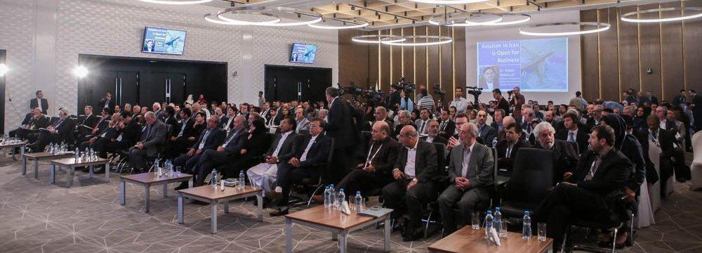 The CAPA Iran Aviation Finance Summit opened at Tehran's Imam Khomeini International Airport on Sept. 18.