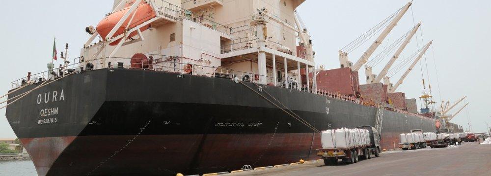 Rise in Shahid Bahonar Port Throughput