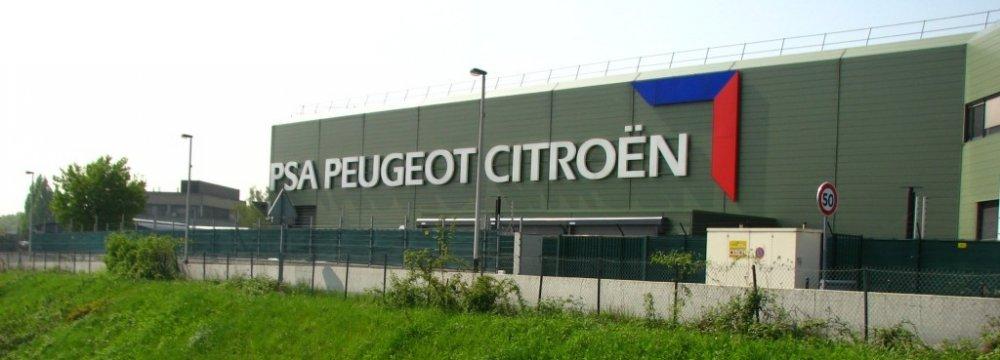 Peugeot-Citroen Officials to Visit Tehran