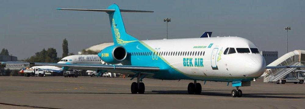 New Flight to Kazakhstan