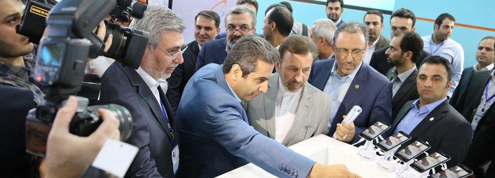 Mahmoud Vaezi spoke at Iran Telecom 2016