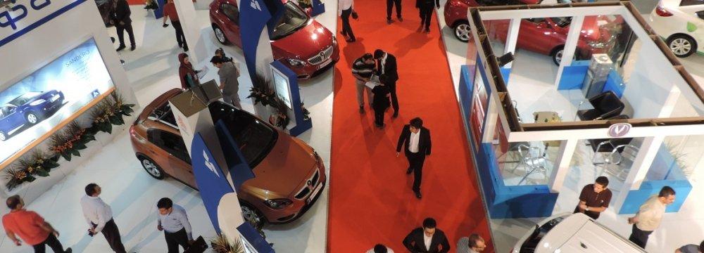 Urmia Auto Expo Concludes