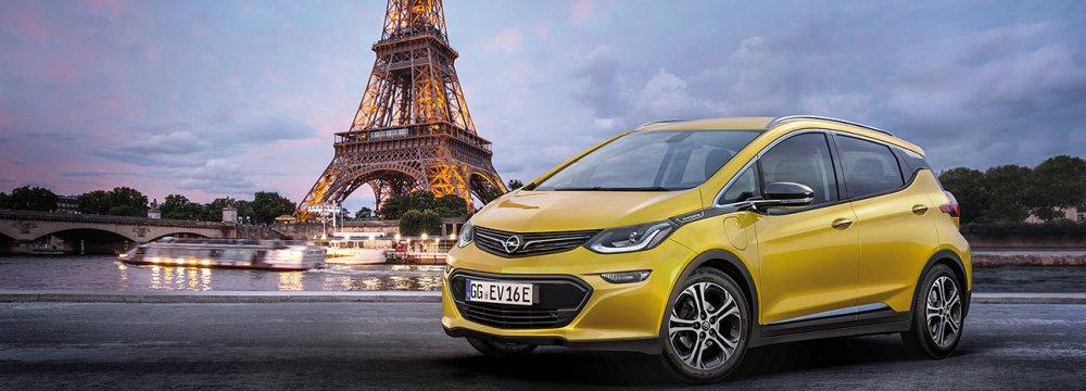 Opel Announces Groundbreaking Electric Vehicle