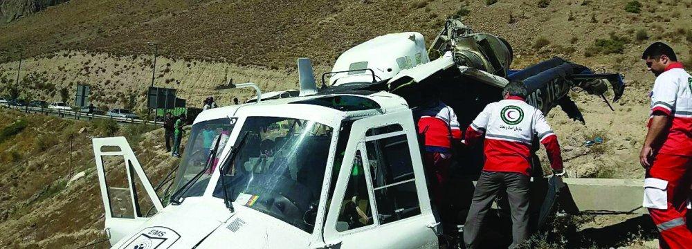 1 Killed in Air Ambulance Crash