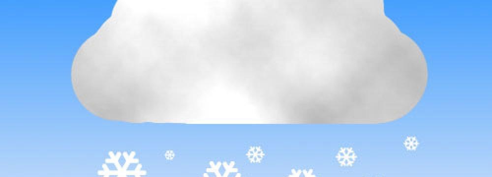 Snow in Ardebil