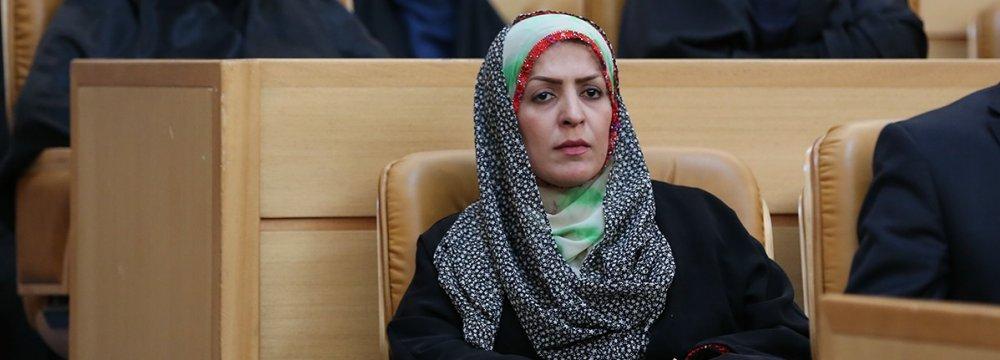 Jamileh Molazehi was elected in Nik Shahr in the southeastern province of Sistan-Baluchistan.