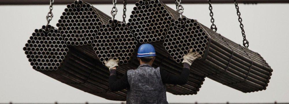 China Industrial Profits Rise