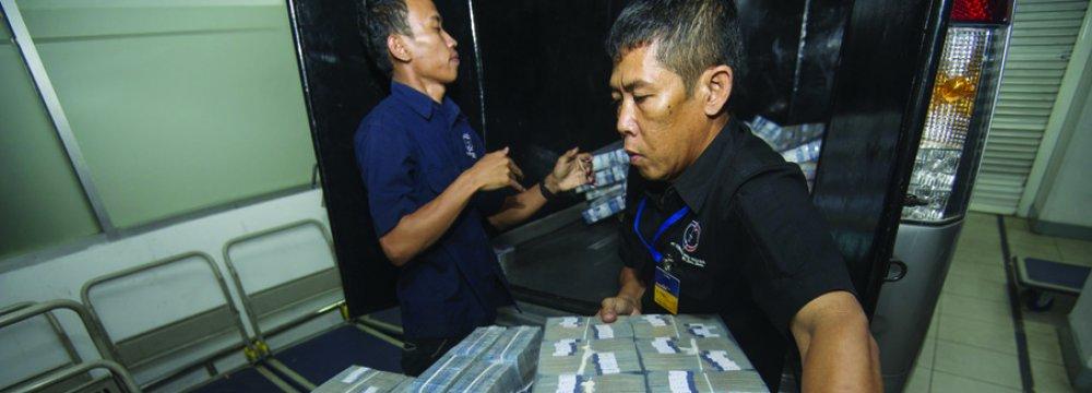Indonesia Budget Deficit Swells