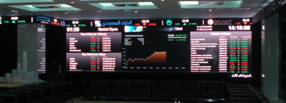 Saudi Arabia, Qatar Stocks Slump