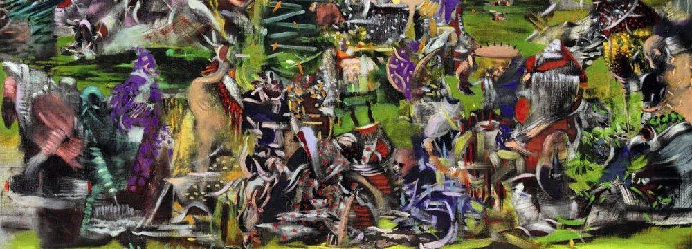 'Creation', 2012, by Ali Banisadr
