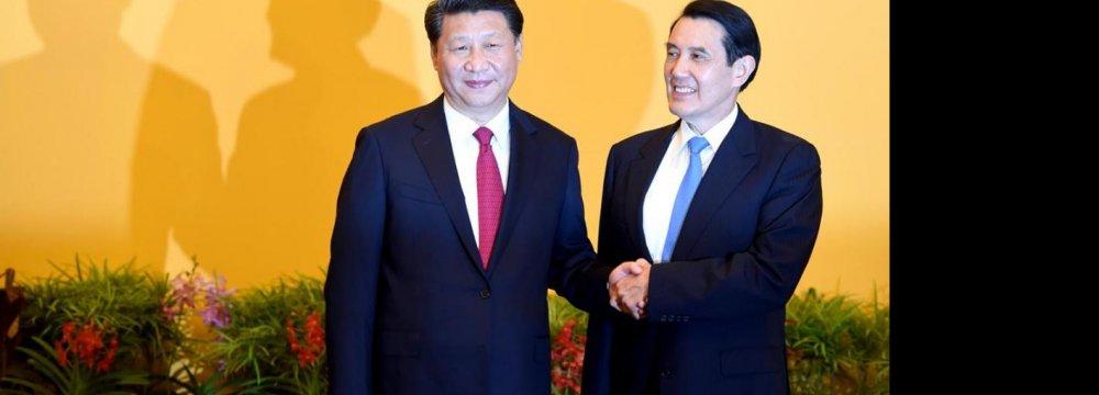 China, Taiwan in Historic Meeting