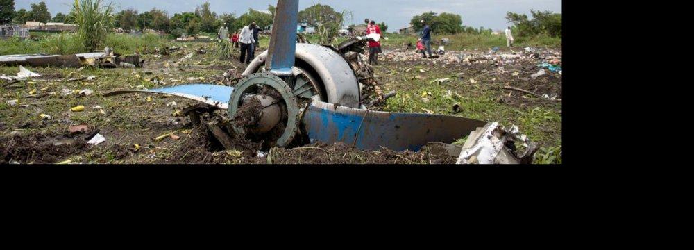 Antonov-12 Crash Kills 41