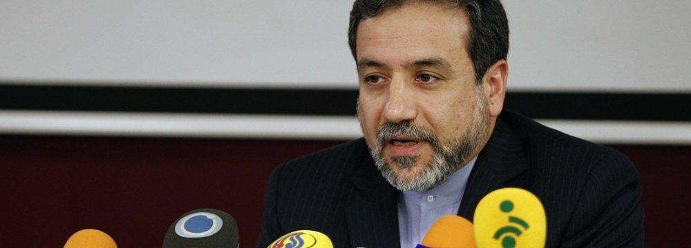Vienna Talks Focus on Sanctions