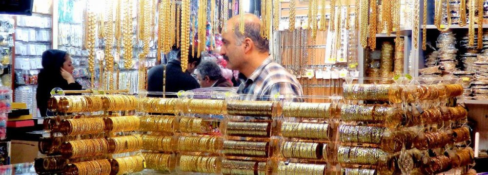 Iranians placed a lot more bets on gold in the first quarter of 2018.