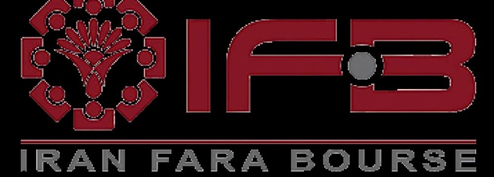New IPOs on Iran Fara Bourse