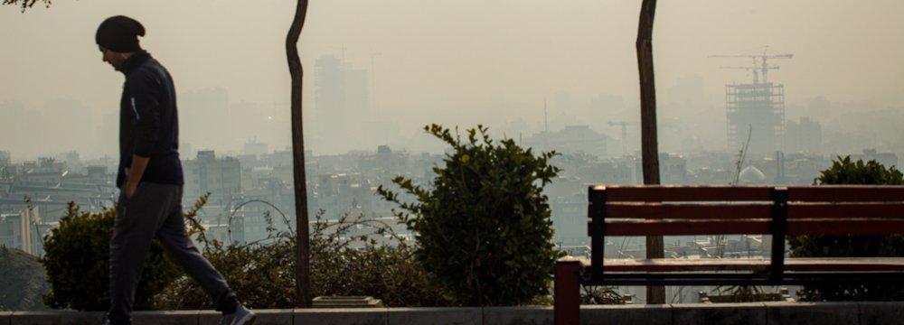 Choking Haze Sends Hundreds of Tehran Residents to Hospitals