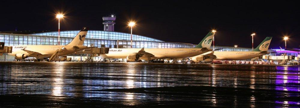 Iran Airport Traffic Falls 6%