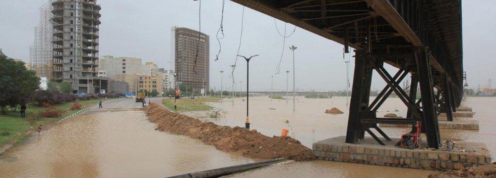 Floods Ravage Iran Telecom Infrastructure