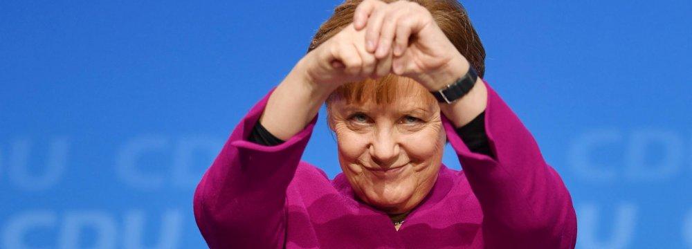 SPD Signs Up to New Merkel-Led German Gov't