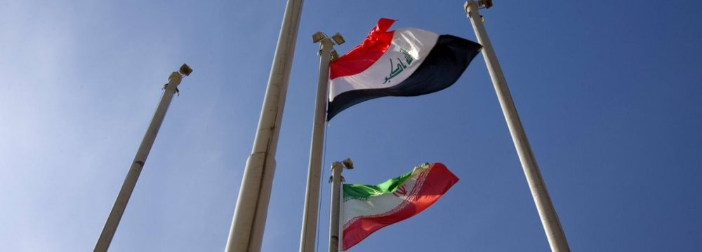 Iran-Iraq Economic Ties Won't Be Affected by US Tensions