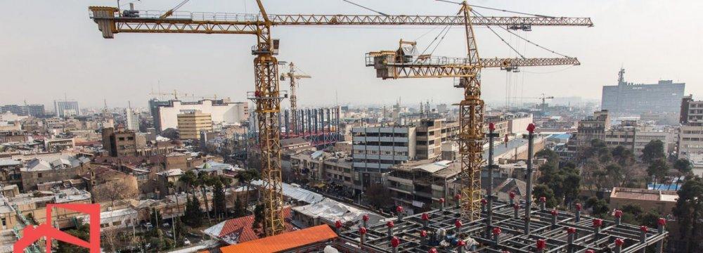 Tehran's Construction Material Inflation Tops 29 Percent in Q1