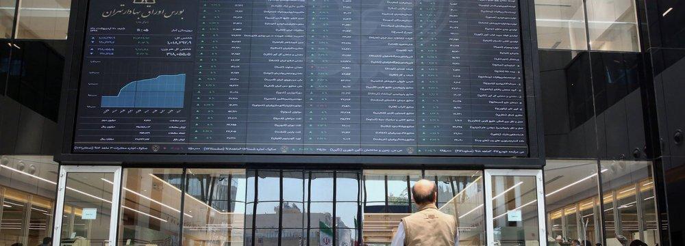 Tehran Stocks Main Index Finishes 3% Higher