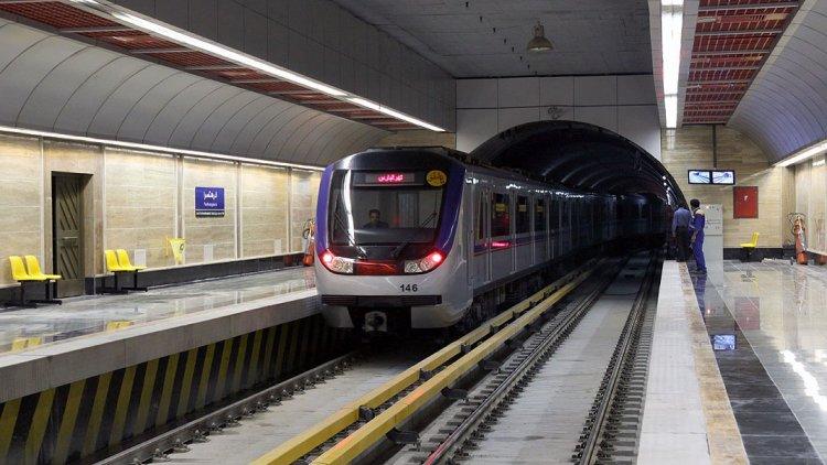 نزدیک ترین مترو به بیمارستان گاندی شبکه مترو تهران Tehran Metro Network - tehran-metro.com.