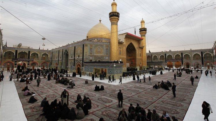 Maula Ali Shrine Wallpaper: Iraq Religious Tourism Squeezed By Iran Sanctions