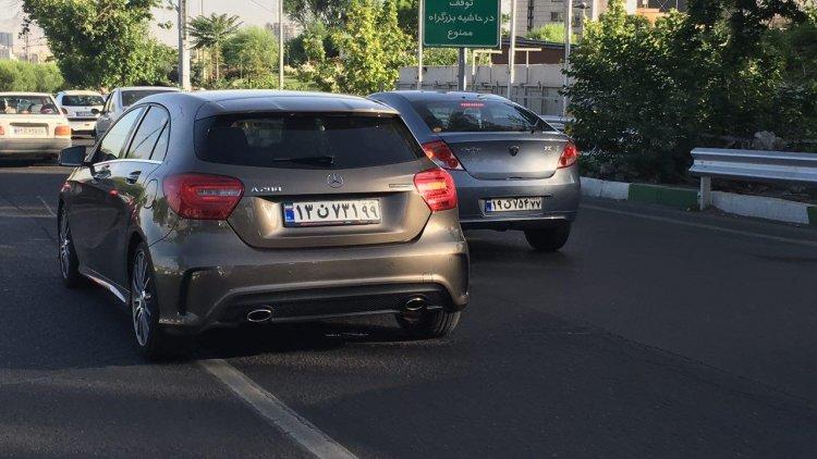 Tehran Number Plates Undergoing Overhaul
