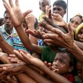 The UN refugee agency says an estimated 270,000 Rohingya have sought refuge in Bangladesh over the past two weeks.