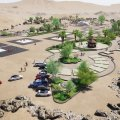 Creating Tourist Resort on Qeshm's Samuran Mountain