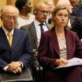 Top EU Diplomat, IAEA Chief Meet on Iran Deal