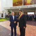 Defense Minister Attends Maduro's Inauguration