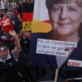 Merkel: Anti-Immigration 'Rowdies' Disrupting Election