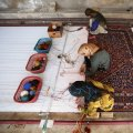 Currently, Iran has one million carpet weavers, 700,000 of whom work full-time.