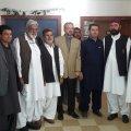 Pakistani Delegation in Iran