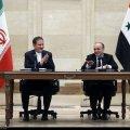 Iran, Syria Strike Deals to Advance Economic Cooperation