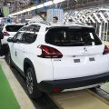 "Peugeot 2008's assembly line was ""officially inaugurated"" in May."