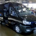 Hyundai H350 vans will sold for 1.83 to 2.18 billion rials ($48,150-$57,360).