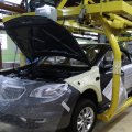 A production line of SAIPA, Iran's second-largest automotive firm (File Photo)