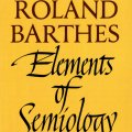Roland Barthes Essays on Semiology