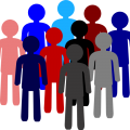 Population Distribution in Age Groups