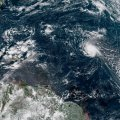The center of the hurricane approached the southeastern coast of the US on Thursday.