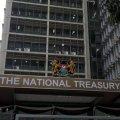 The National Treasury building in Nairobi.