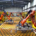 The manufacturing sector rose an annual 13.5% compared to a decline of 1.8% in the year ago quarter.