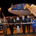 KLM resumed flights between Amsterdam and Tehran in October 2016, after a three-year hiatus.