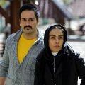 Milad Keymaram and Leila Zare in the film