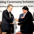 Shell Signs Initial Oil,  Gas Deals With Iran
