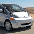 A sole Mitsubishi i-Miev made it to Iran, but its location is now unknown.